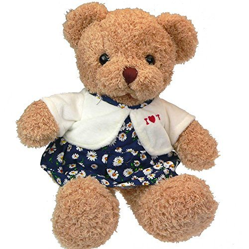 887978c3583 Amazon.com  A stuffed toy bear teddy bear clothes fluffy 35cm beige animal bear  children kids children girl birthday gift  Toys   Games