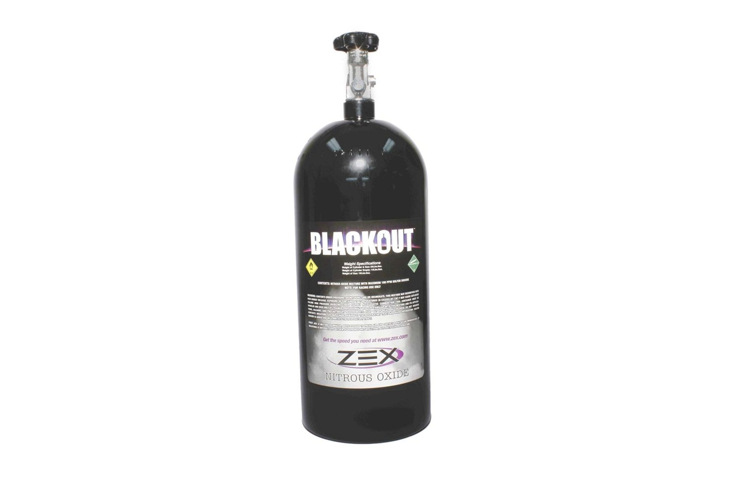 COMP Cams 82323B Nitrous Bottle Assembly (Zex 10 Lb ''Black'')
