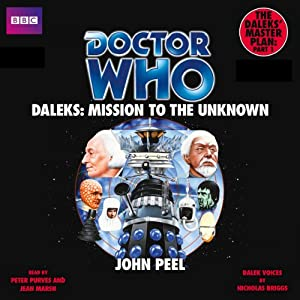 Doctor Who: Daleks - Mission to the Unknown Audiobook