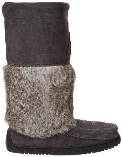 Manitobah Winter Women's Mukluk Mukluks Owl Charcoal Boot Snowy T5zzPrWx