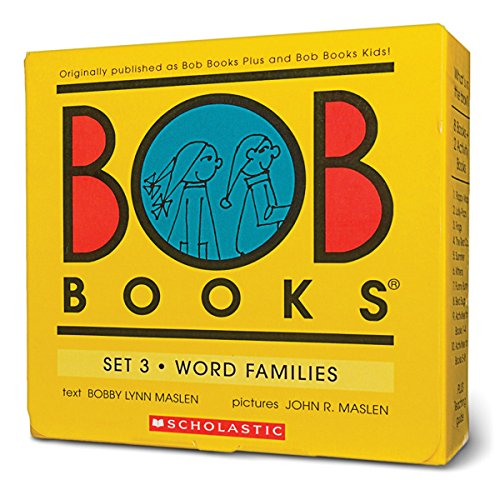 Bob Books Set 3- Word Families