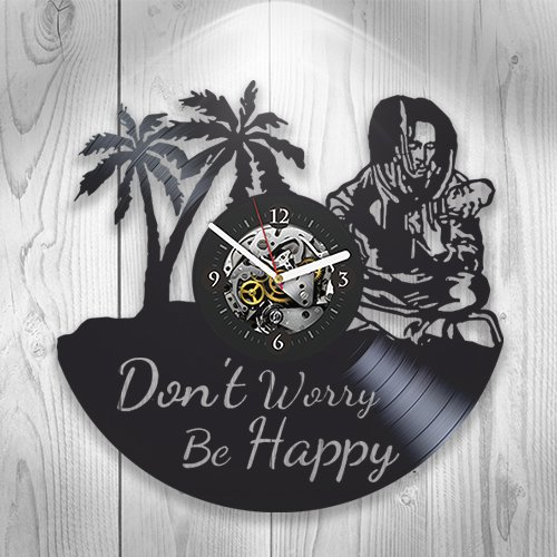 Birthday Decoration Ideas For Home (Bob Marley, Vinyl Clock, Wall Decor, Reggae Music, Songs, Fan Club, Home Art Decoration, Handmade Modern Art, Gift Idea For Man And Woman, Vintage Vinyl Record, Home Decor)
