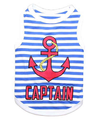 Parisian Pet Captain Dog T-Shirt, - Awesome T-shirt Dog