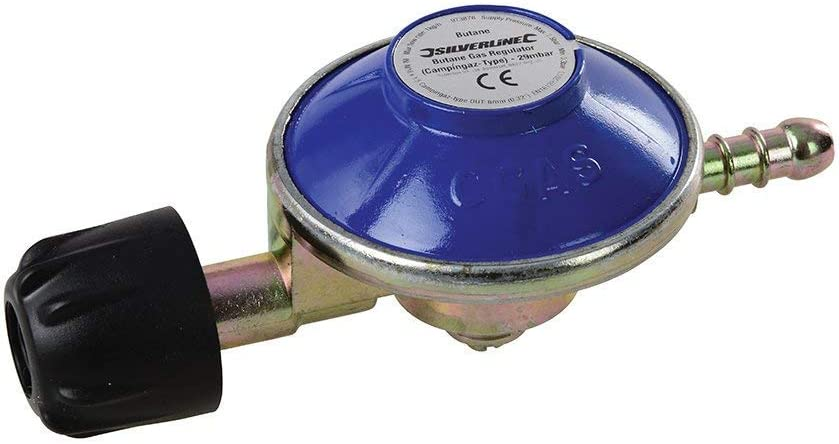 Silverline 973878 Regulador de gas butano tipo campingaz de ...