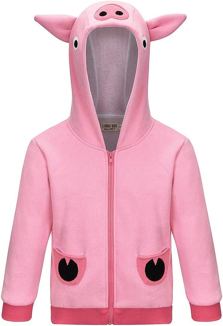 Thombase Fancy Pig Halloween Cosplay Winter Warm Jackets Ryans Combo Panda Coats for Boys Girls