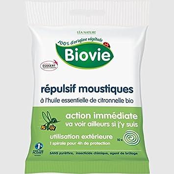 biovie espiral repelente de mosquitos a la aceite esencial de ...