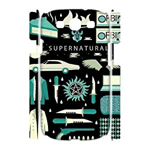 Supernatural Custom 3D Case for Samsung Galaxy S3 I9300, 3D Personalized Supernatural Case