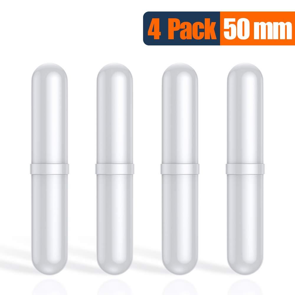 Magnetic Stir Bar Large Size, Stirbars/Stir Bars, PTFE Stirrer/Mixer Bar. Spinbar Teflon Octagon Magnetic Stirring Bar, 4 Pack, 50mm / 1.96 Inch by NiceGo