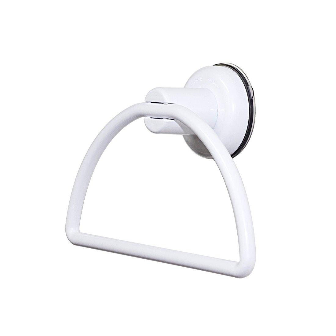 IMAHOU Bath Towel Holder Hand Towel Ring Hanging Towel Hanger Bathroom Accessories Wall Mount
