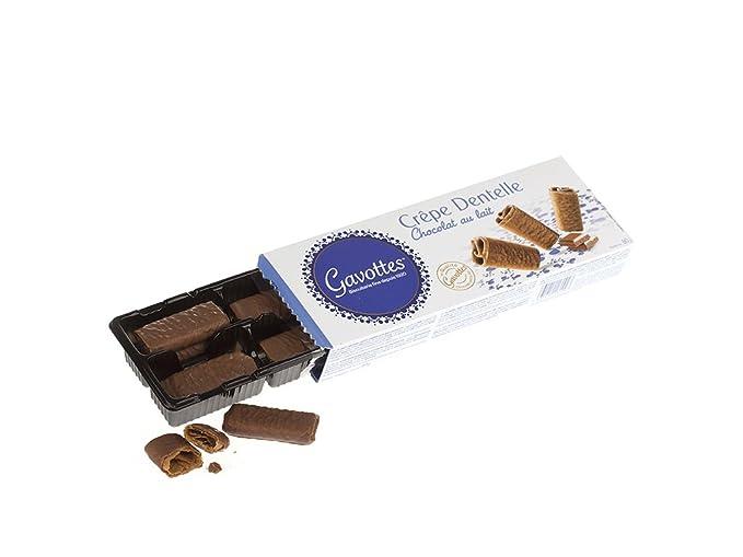 Gavottes - Barquillos con chocolate con leche - 90 g