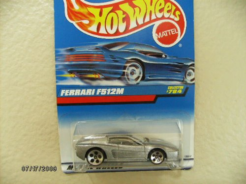 Hot Wheels Ferrari F512m 1998 #784 W/5dot's