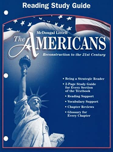 amazon com the americans reconstruction to the 21st century rh amazon com The Life Guide U.S. History Textbook