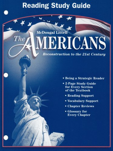 The Americans: Reconstruction to the 21st Century (Reading Study Guide)