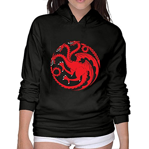 Womens Thrones Hoodie Sweatshir Sweatshirts