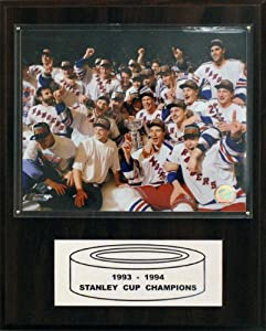 NHL New York Rangers 1993-94 Stanley Cup Celebration Champions Plaque