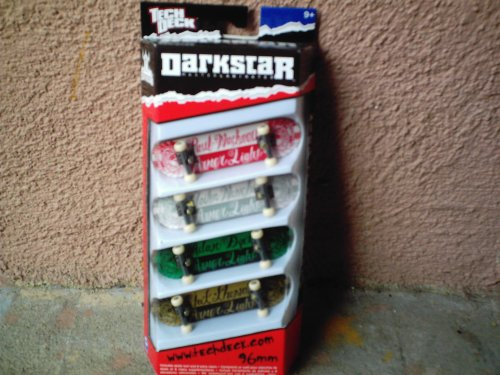TECH DECK 96mm Diapasón de 4 paquetes (Darkstar)