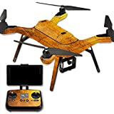 MightySkins Protective Vinyl Skin Decal for 3DR Solo Drone Quadcopter wrap cover sticker skins Textured Gold