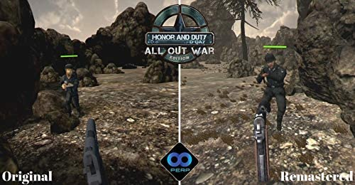 Honor and Duty D-Day: All Out War Edition (PS4): Amazon.es ...