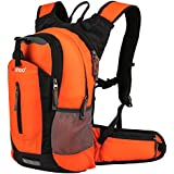 Insulated Hydration Backpack Pack with 2.5L BPA FREE Bladder - Keeps Liquid Cool up to 4 Hours, Water Backpack For Hiking Camping Cycling Running, 18L