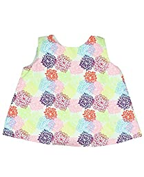 Rufflebutts Baby-girls Bold Dahila Swing Top (3-6 months)