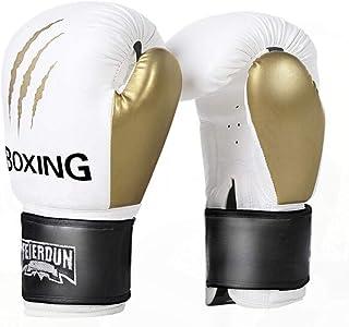 Gants de Boxe, Gants Muay Thai de Formation Professionnelle pour Adultes Sanda, Combats de Combat, Gants de Sac de Sable, Griffe de Loup Platine, Haute qualité
