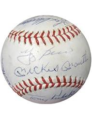 1962 New York Yankees Signed Baseball With 21 Signatures Including Yogi Berra, Whitey Ford  amp; Els