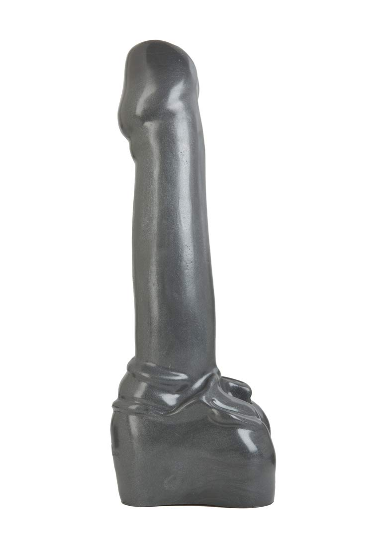 Doc Johnson American Bombshell - Atom Bomb - Vac-U-Lock and F Machine Compatible Dildo or Butt Plug - Gunmetal Grey by Doc Johnson (Image #1)