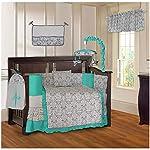 SoHo Baby Crib Nursery Bedding 10Pc Set, Lavender Owls