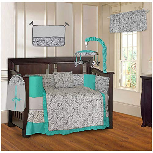 oise 10 Piece Baby Crib Bedding Set ()