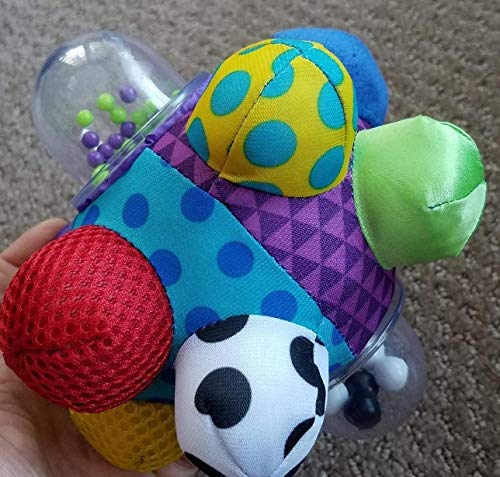 YOLO Stores Baby Bumpy Ball Toys Infant Toddler Toy Play BB Stick Unisex Girls Boys Colorful Sounds Shapes