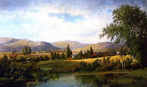 Collection Mount Canvas (William Henry Hilliard Mount Washington 1876 Private Collection 30