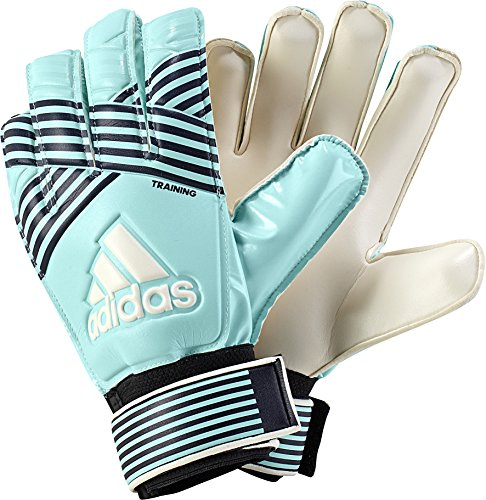 UPC 889773428736, adidas Performance ACE Training Goalie Gloves, Energy Aqua/Energy Blue/Legend Ink/TraceBlue, Size 5