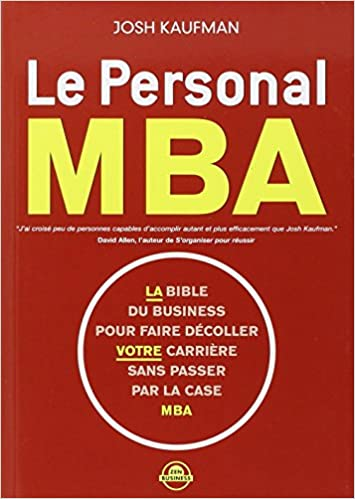 Livre: Le personal MBA
