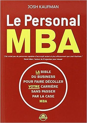 Livre: Le personal MBA
