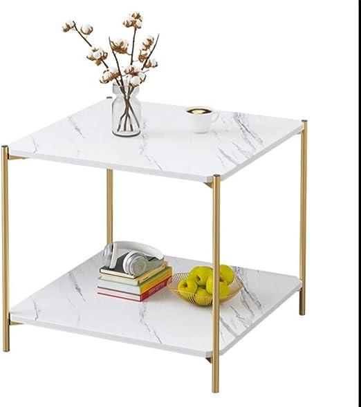 YNN Table Mesa De Centro, Sofá Mesa Auxiliar, Mesa Cuadrada ...