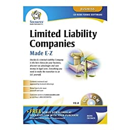 Socrates Media SS4309 Limited Liability Companies Software, Includes Instructions