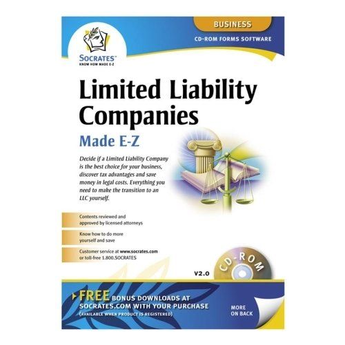 Socrates Media SS4309 Limited Liability Companies Software, Includes Instructions -