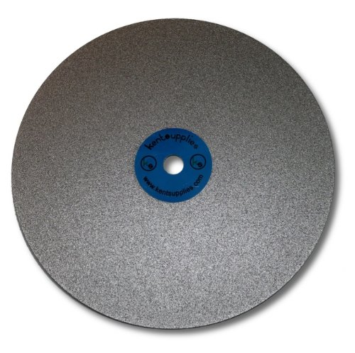 - 8 inch Grit 150 Quality Electroplated Diamond coated Flat Lap Disk wheel
