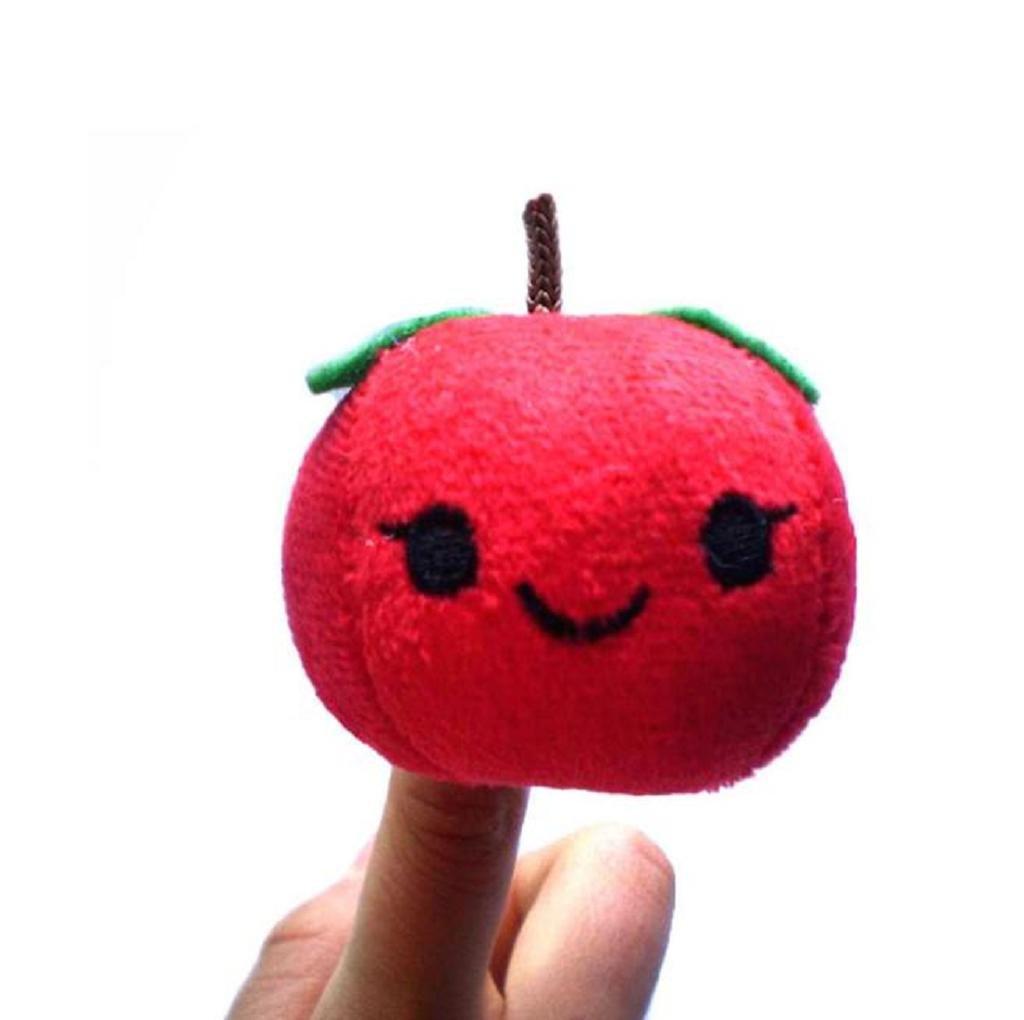 Amazon.es: Baby Early Education juguetes de regalo, Koly frutas y hortalizas lindos marioneta de dedo de peluche juguetes infantiles: Juguetes y juegos