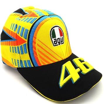 Oficial Valentino Rossi AGV casco niños Baseball Cap VR/46 Moto GP