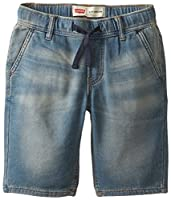 Levi's Boy's 8-20 Knit Jogger Short Sea ...
