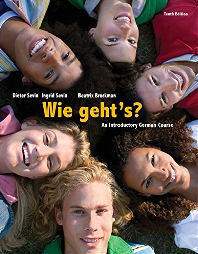 1285733606 - Wie geht's? (World Languages)