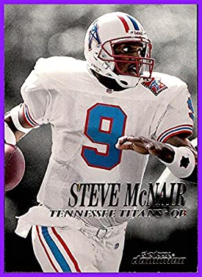 1999 SkyBox Dominion #108 Steve McNair RIP HOUSTON OILERS ALCORN STATE TENNESSEE TITANS