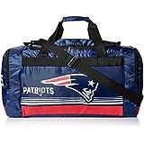 New England Patriots Medium Striped Core Duffle Bag
