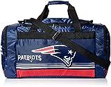 FOCO New England Patriots Medium Striped Core Duffle Bag