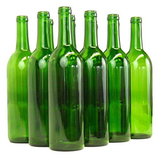 Wine Bottle Case (Home Brew Ohio B01EI2NK1Q  6 gallon Bottle Set: green Claret/Bordeaux (36 Bottles))