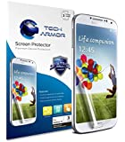 Tech Armor Samsung Galaxy S4 Premium Anti-Glare & Anti-Fingerprint (Matte) Screen Protectors with Lifetime Replacement Warranty [3-PACK] - Retail Packaging