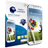 Galaxy S4 Screen Protector, Tech Armor Anti-Glare/Anti-Fingerprint Sasmsung Galaxy S4 Screen Protectors [3-Pack]
