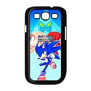 Generic for Samsung Galaxy S3 9300 Cell Phone Case Black Sonic the Hedgehog Custom HHGKAOJFD3995