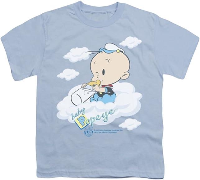 Amazon.com: TeeShirtPalace Popeye: bebé nubes juventud ...